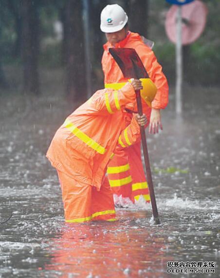 """抗击风雨 守护安宁br台风""""山竹""""来袭,多地全力应对"""