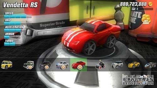 桌面狂飙试玩 体验最出色的迷你赛车