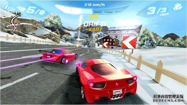 全球畅销赛车游戏《狂野飙车6:火线追击》支持海信最新智能电视