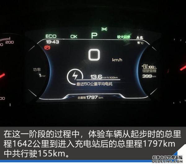 宋EV 500环京千里奔袭 满电续航里程让人一惊-图9