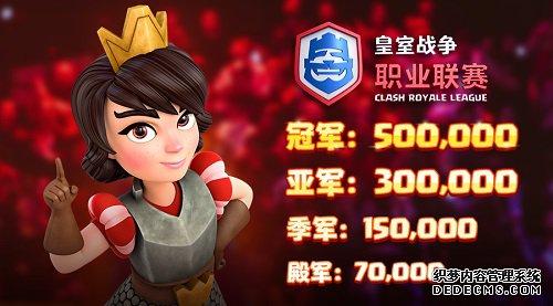 皇室战争CRL季后赛明晚开战:总奖金超百万
