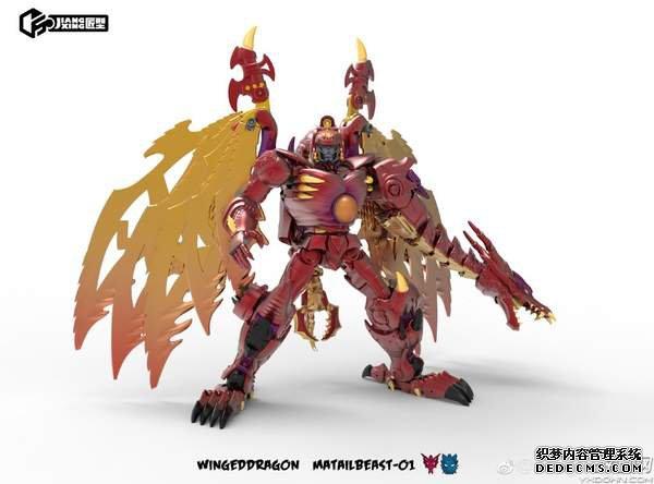 《猛兽侠》三代霸王龙模型公布 霸气红龙蔑视一切