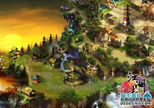 新生代网页游戏《江湖情》演绎武林传奇