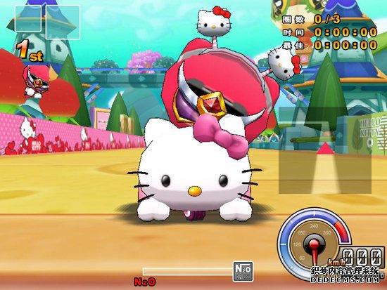 粉红公主Hello Kitty加萌登陆《跑跑卡丁车》